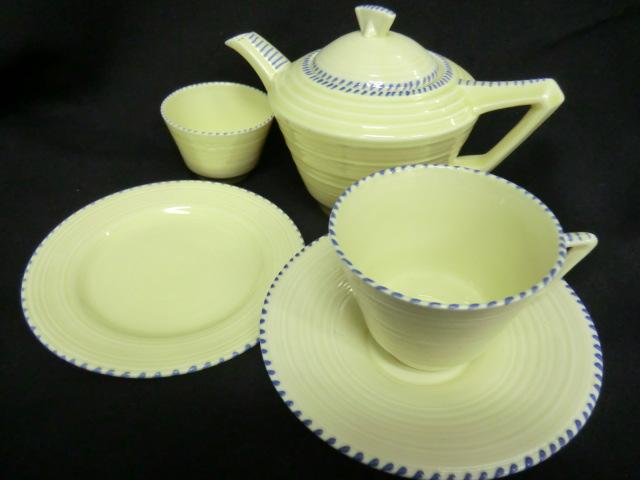 Crown Ducal Part Tea Set For One Stitch Pattern
